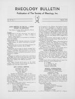 Box 6, Folder 21, Rheology Bulletin, Vol 44, No. 1, March 1975