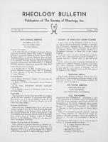 Box 6, Folder 22, Rheology Bulletin, Vol 44, No. 2, August 1975