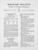 Box 6, Folder 24, Rheology Bulletin, Vol 45, No. 1, April 1976