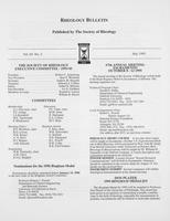 Box 7, Folder 08, Rheology Bulletin, Vol 64, No. 2, July 1995