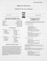 Box 7, Folder 13, Rheology Bulletin, Vol 67, No. 1, January 1998