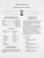 Box 7, Folder 24, Rheology Bulletin, Vol 72, No. 2, July 2003