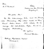 Box 2, Folder 02, Chronological correspondence, 1924