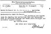 Box 2, Folder 03, Chronological correspondence, 1924
