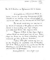 Box 2, Folder 06, Chronological correspondence, 1926