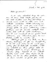 Box 2, Folder 08, Chronological correspondence, 1926