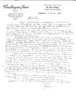 Box 2, Folder 09, Chronological correspondence, 1926