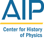 AIP Center for History of Physics Lyne Starling Trimble Science Heritage Public Lectures, 2016