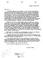 Box 6, Folder 25, Bohan, Mary F. (Goudsmit's secretary), 1946-1955