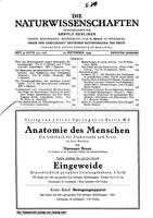 """Box 42, Folder 07, """"Der Zeemaneffect im Scandiumspektrum,"""" Die Naturwissenschaften, 1924"""