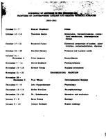 Box 36, Folder 28, Rockefeller Institute seminars, 1960-1963