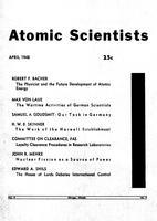 "Box 43, Folder 71, ""Our Task Force in Germany,"" Bulletin of the Atomic Scientists, 1948"