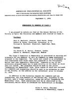 Box 47, Folder 06, Committee on Nominations, 1966-1978