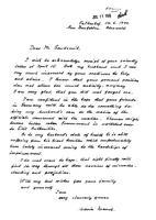 Box 28, Folder 58, Goudsmit's personal correspondence on Alsos, K-T, 1945-1963
