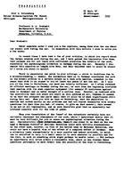 Box 10, Folder 95, Heisenberg, Werner: correspondence, 1940-1954
