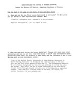 Baldwin, Ralph Belknap. Response to History of Modern Astrophysics Survey, 1980