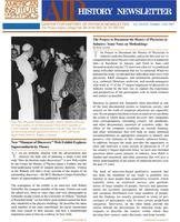 AIP History Newsletter, Vol. 39, No. 2, Fall 2007