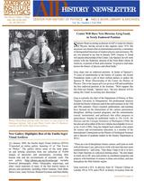 AIP History Newsletter, Vol. 40, No. 2, Fall 2008