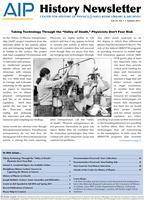 AIP History Newsletter, Vol. 43, No. 1, Summer 2011
