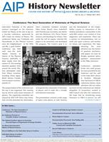 AIP History Newsletter, Vol. 43, No. 2, Winter 2011-2012