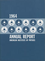 1964 AIP Annual report