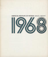 1968 AIP Annual report