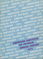 1972 AIP Annual report