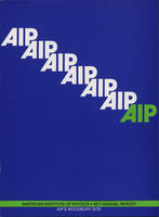 1977 AIP Annual report