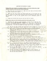 Bass, Michael. Response to Laser History Project Survey, circa 1984