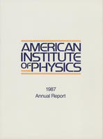 1987 AIP Annual report
