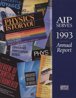 1993 AIP Annual report