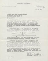 Box 1, Folder 05, Correspondence on Electricity and Magnetism, 1963-1987