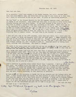 Box 1, Folder 10, Correspondence - family, 1971-1981; undated