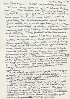 Box 2, Folder 03, Correspondence - family, 1975-1996; undated