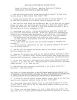 Ernest Donald Klema response to 1981 History of Nuclear Physics Survey, circa 1983