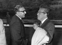 Abdus Salam and Julian Schwinger conversing