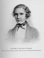 A pencil drawing of William Thomson Kelvin