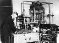 Bainbridge Works with Spectrograph
