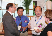 Dylla and Others at AIP China