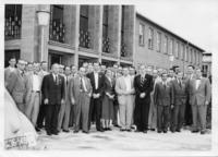 Attendees of the Conference on Nuclear Masses and Their Determination, July 10-12, 1956