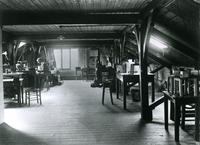 """""""The Nursery"""", a room in the Rayleigh wing of Cavendish Laboratory"""