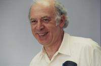 Informal portrait of  Friedman