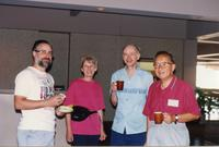 Haber, Barger, Barger and Tuan at the 1993 Linear Collider Workshop