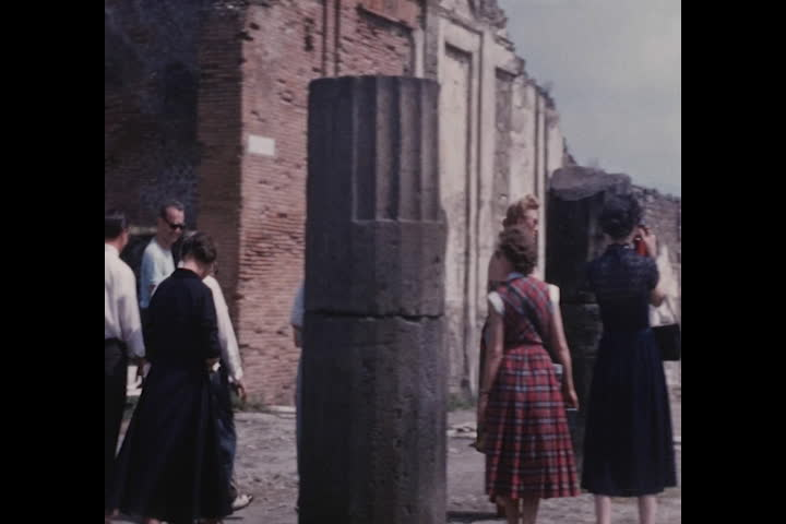 New York to Rome, 1952, part 1